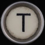 T Typewriter Key